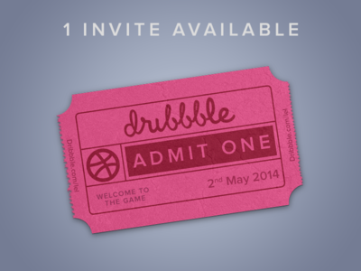 I have one invite for a talented prospect! invite prospect drafted dribbble
