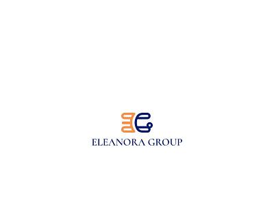 Eleanora Group icon vector design branding minimalist logo monogram logo design logo
