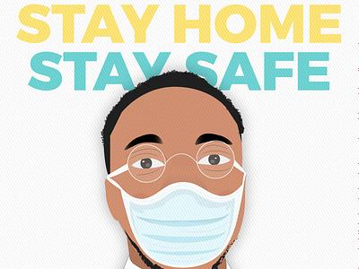 COVID-19 Stay home Campaign design vector stay home stay safe stayhome campaign wfh workfromhome coronavirus covid-19 covid19 illustration illustrator