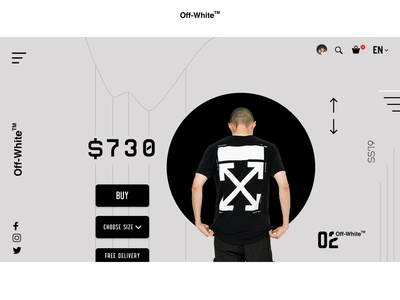 OFF WHITE | WEBSITE CONCEPT.