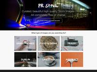 New Stock Photo Page Idea