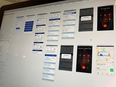 Health App ux design ui design design ui ux sketch app mobile app mobile