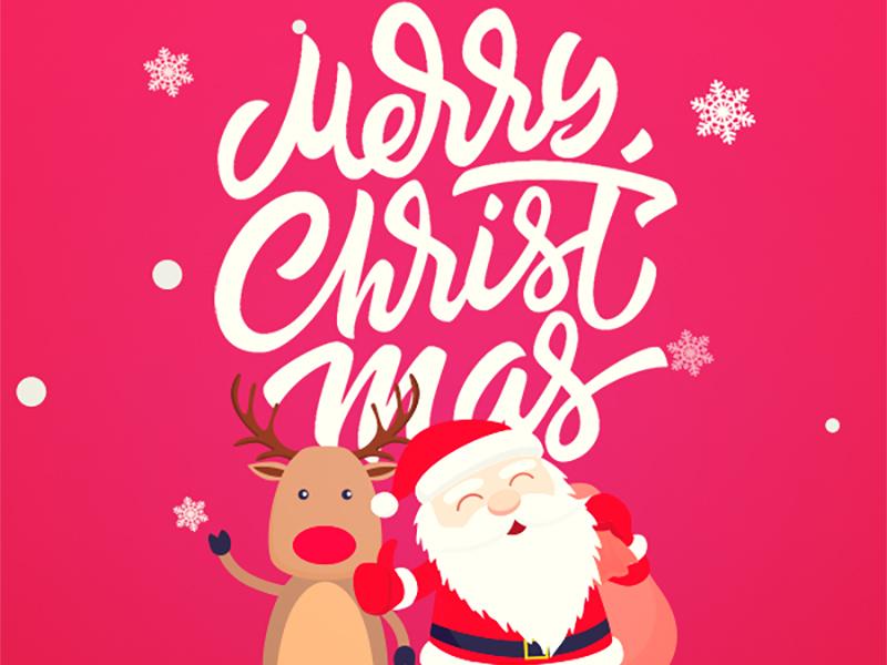 Ho Ho Ho Merry Christmas.Ho Ho Ho Merry Christmas By Designforpeople On Dribbble