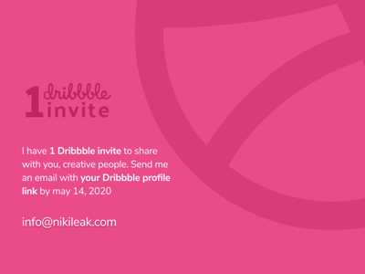 1 Dribbble invite Giveaway invitations dribbble invitations invitation invite giveaway dribbble invitation dribbble dribbble invite