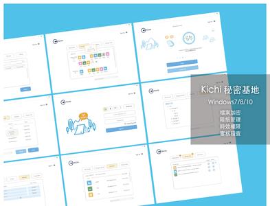 Kichi: Windows Software UI Samples file manager windows visual studio illustration logo icon ui design