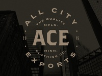 All City Exports Clothing Logo