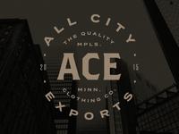 All City Exports Clothing Logo