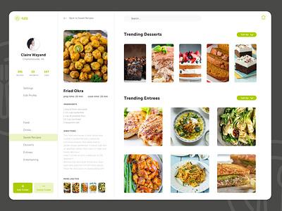 Recipe Board dailyui app graphic design ux  ui fooddesign recipeui foodboard foodui recipes designer design uxdesign recipeboard ux design uiux ui design ui