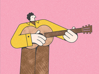 The Folk Guitarist