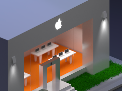 Apple Store | 3D Modeling