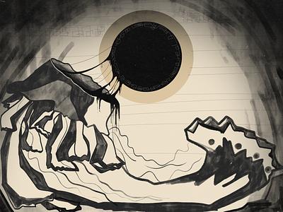 B.M black design illustrator illustration graphicdesign digitalart photoshop