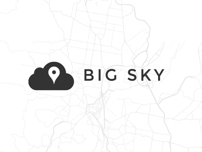 Big Sky big sky maps logo