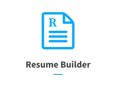 logo for resume builder project