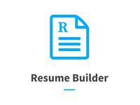 Logo for resume builder project.
