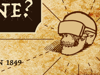 Virtual Reality Treasure Map Skull
