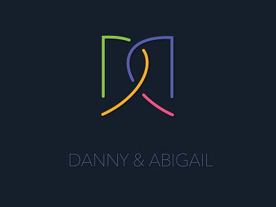 Danny & Abigail logo