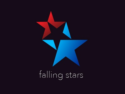 Falling Stars stars logo unpublished