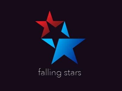 Falling Stars stars logo unpublished