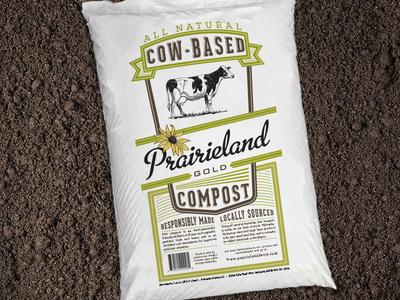 """Compost Bag"" for Prarieland Dairy"