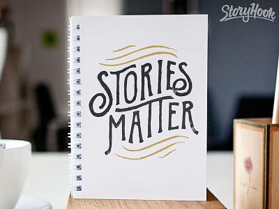 Stories Matter storyhook stories illustration design typography