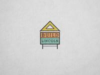 Build Lincoln Logo Concept