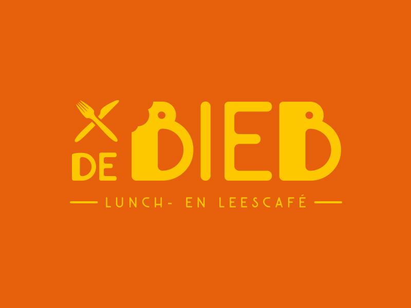 De Bieb de bieb bread read books cafe lunch logo