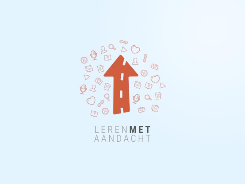 Leren Met Aandacht arrow logo app ios