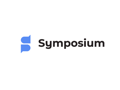 Symposium Logo symposium speakers logo conference branding