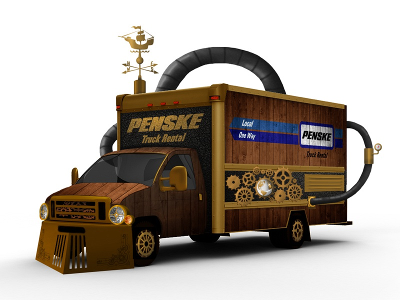 Dribbble 82 steampunk penske halloween