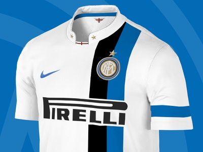 Dribbble 84 inter milan soccer kit jersey pirelli nike apparel