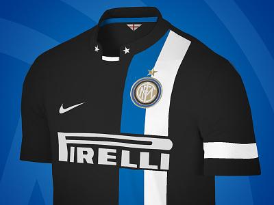Dribbble 83 inter milan soccer kit jersey pirelli nike apparel