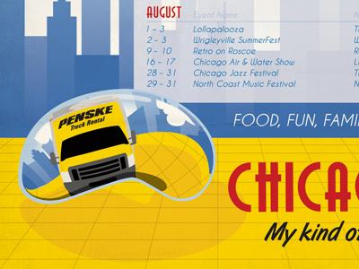 Dribbble 88 poster chicago cloud gate millenium park