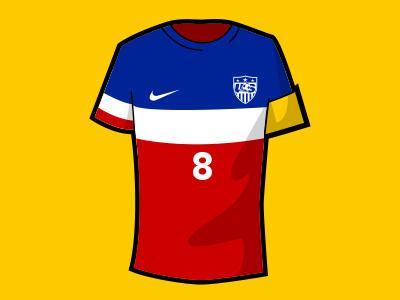 Dribbble 91 usmnt world cup soccer jersey