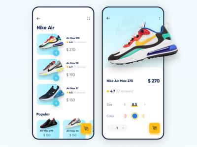 Sneaker shop app 👟👟👟