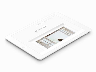 mirā – Landing Page Hero design ui ux website web ipad mira heaj dwm hero landing page