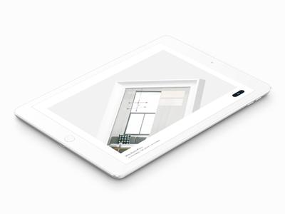 mirā – Shop Online landing page hero dwm heaj mira ipad web website ux ui design