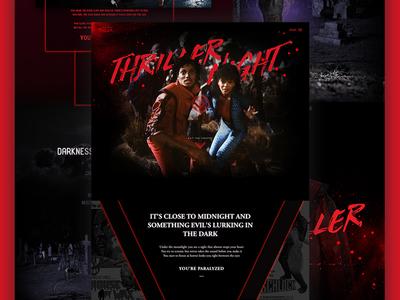 Thriller by Michael Jackson michael jackson elegant seagulls thriller zombie monster mocktober horror halloween