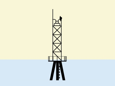 Cape Charles Illustration cape simple color water quick lighthouse illustrations