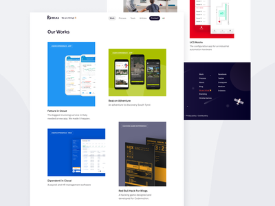 Our works page on Belka's portfolio casestudy case study product design products projects clientwork figma ui website design website portoflio portfolio design agency website agency portfolio website web portfolio page portfolio site portfolio