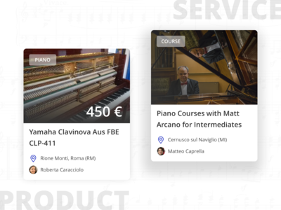 Musicamea: product and service
