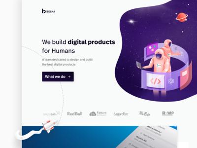 Belka's homepage: alternate version