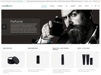 Perfume Web Page Design