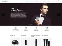 Made Men Web Page Design