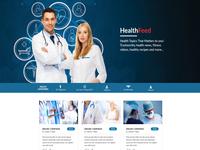 Health Feed Web Design