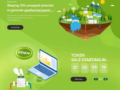 Eden Geo Power Web Design