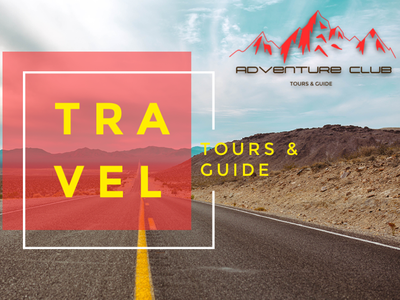Adventure Club Travel banner design ad branding adventure club