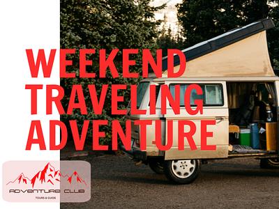 Adventure Club Travel ad branding banner design travel adventure club