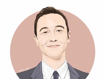Joseph Gordon-Levitt portrait illustration illustrator procreate digital painting digital portrait digital illustration painting drawing portrait painting portrait ipadpro illustration art illustration digital