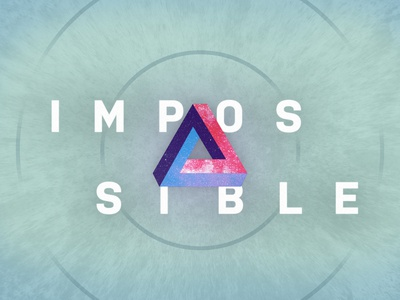 Impossible Message Series galaxy illustration design procreate series brand church impossible message series church design