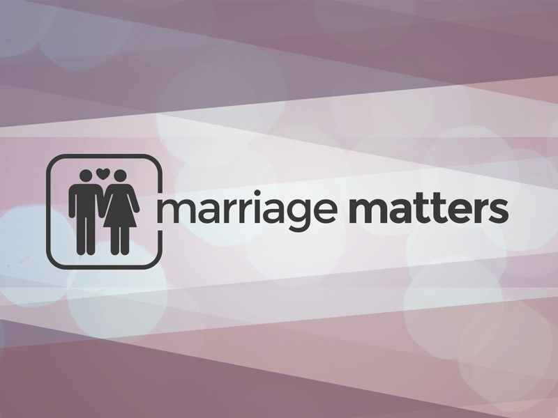 Marriage Matters Conference | Logo + Icon Design by Joel Pingleton